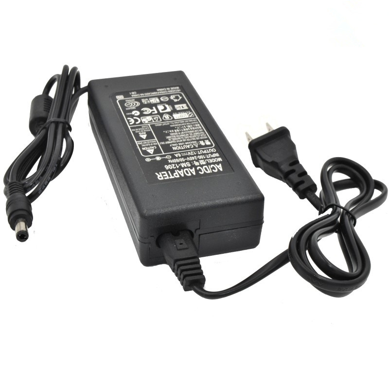 Direct Selling New 12V6A Power Supply 12V5A4A Adapter AOC LCD TV LED Monitoring Light Bars