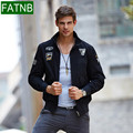 Brand men jacket for aeronautica militare plus size 4XL new arrival military cost army outerwear embroidery jackets air force 1