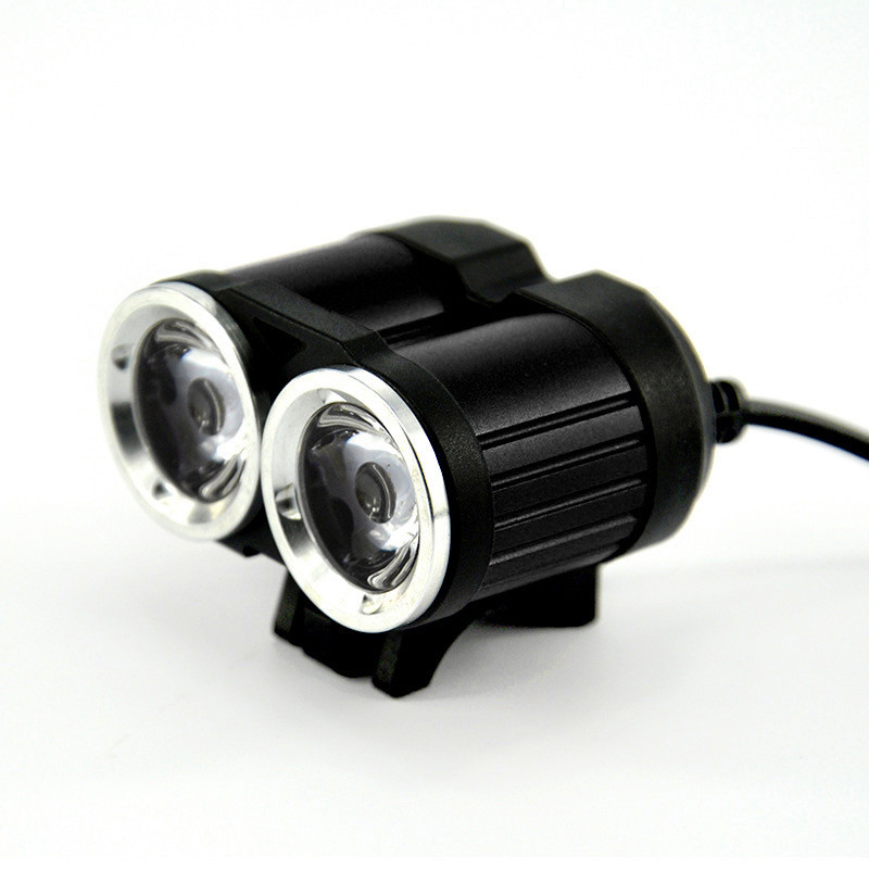 accesorios bicicleta True 2000LM 2 X XM-L T6 LED USB Waterproof Lamp Bike Bicycle Headlight bicycle lamp Strobe 17629 P34