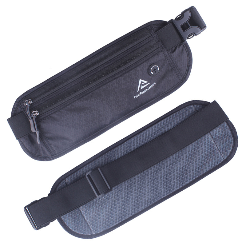 High Quality Men Women Nylon Waist Hip Belt Bag Cell/Mobile Phone Case Invisible Wallet Pocket Anti-theft Money Fanny Pack Pouch