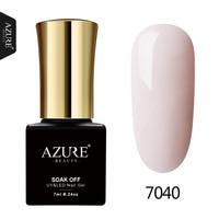 AZURE BEAUTY Gel Nail Polish Ivory Hybrid Nail Glue For Nail Design Soak Off Semi Permanent Gel Varnish 7ml Azure Nail Gel