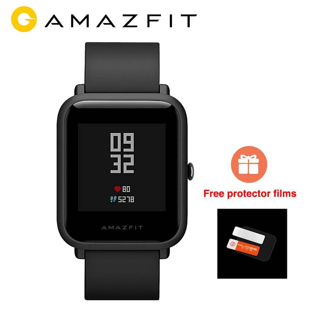 [En STOCK] version mondiale Xiaomi Huami Amazfit BIP BIT PACE GPS IP68 étanche montre intelligente pour les jeunes 1.28