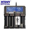 XTAR DRAGON VP4 PLUS Умный набор для подзарядки батареи чехол зонды адаптер зарядное устройство для автомобиля Быстрая зарядка Cargador 18650 зарядное уст...