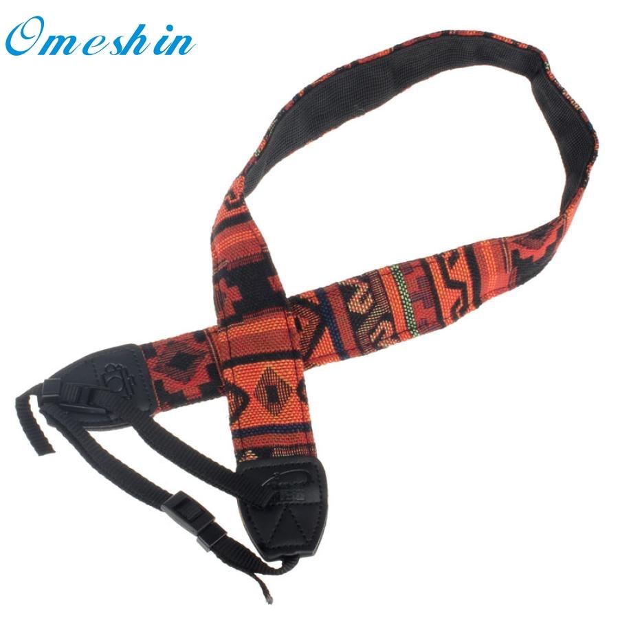 Beautiful Gift New Orange Camera Shoulder Neck Strap Belt For Nikon SLR DSLR Wholesale price Feb15