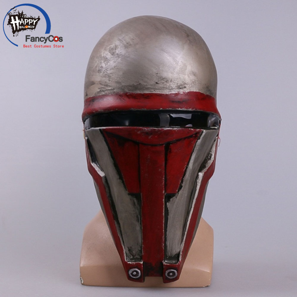 Movie Star Wars  Sith Lord Darth Revan Mask Cosplay Halloween Masquerade face helmet Props Gifts Mask High Quality