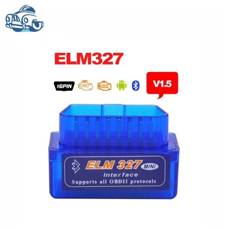 Prix pour V1.5 super mini elm327 bluetooth elm327 version 1.5 obd2/obdII Auto Lecteur de Code de diagnostic interface