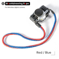 Colorful Mountaineering Nylon Rope Mirrorless Digital Camera Shoulder Neck Strap for Leica Canon Nikon Olympus Pentax Sony Camera Strap