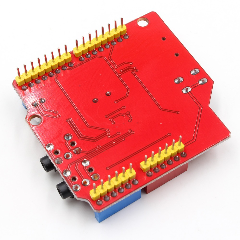 VS1053 VS1053B Stereo Audio MP3 Player Schild Rekord Decode Entwicklung Bord Modul Mit TF Karte Slot Für Arduino UNO R3 ein