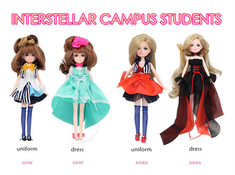 ICY BLYTH DOLL bjd neo Free shipping Fortune days fashion doll Xiaojing DOLL JOINT body with dress box shoes toy gift 26cm