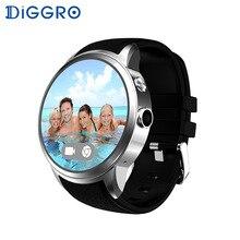 Diggro DI01 Smartwatch Android Display 3G Wifi GPS Smart Watch Phone Mit SIM Kamera Herzfrequenz Monitor Cardiaco Aktivität Track