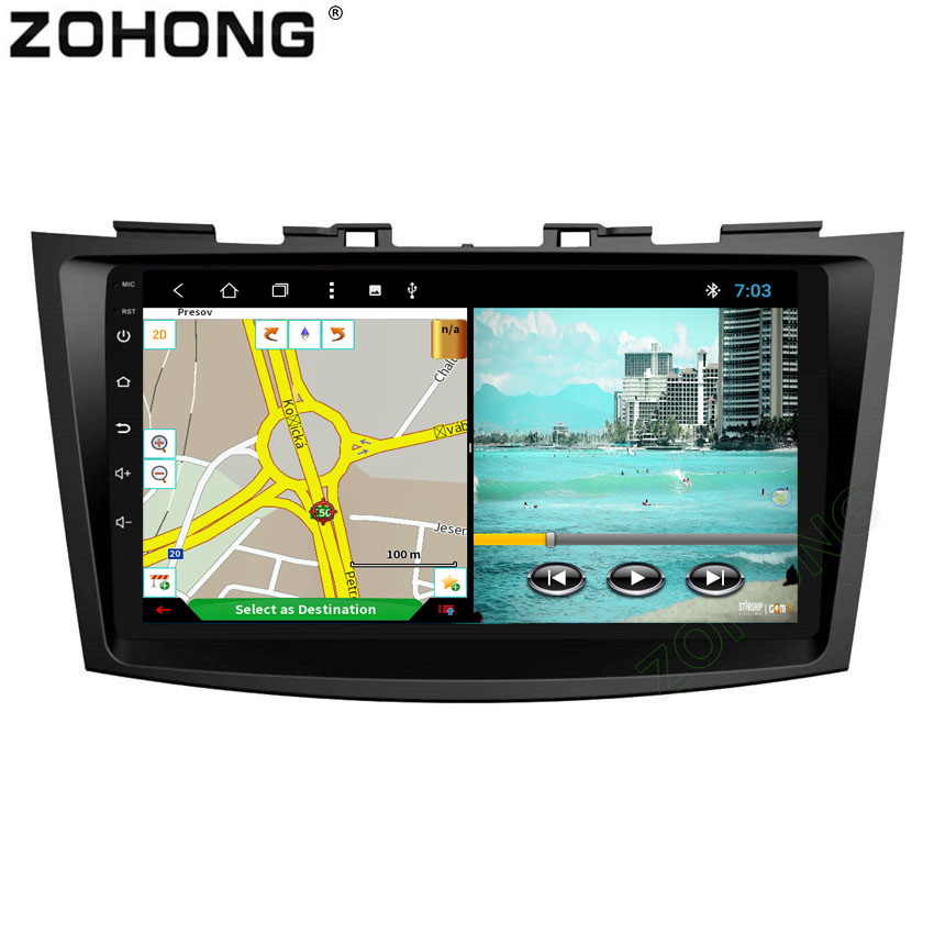 Octa Core Android 8 1 Car DVD Player For Suzuki Swift 2011 2012 2013 2014 2015