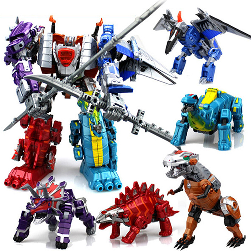 Anime Transformation Toys Dinosaur Toy Deformation Robot Action Figures Model Plastic Toys For Children Gifts Boys 20cm Height стоимость