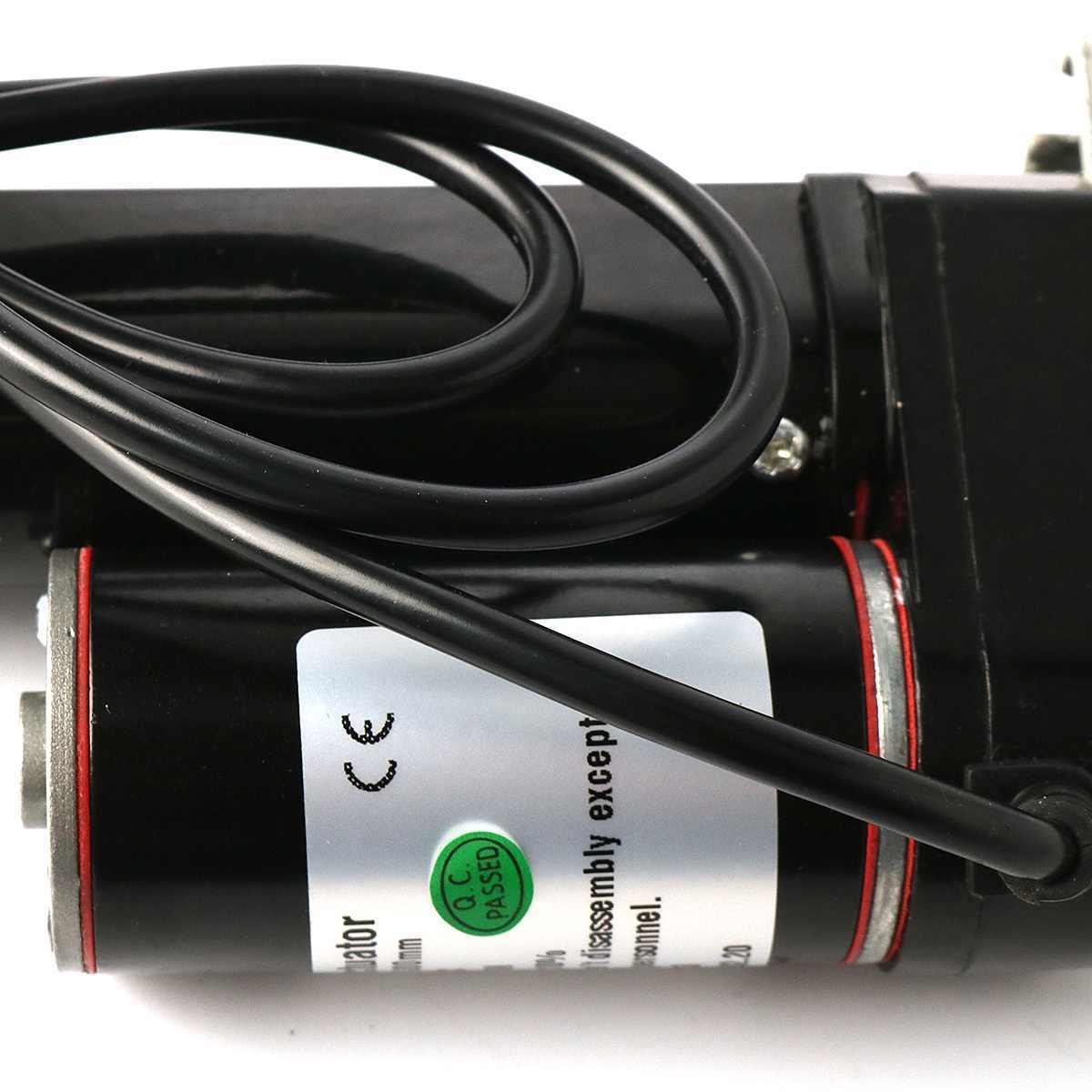 12 В 300 мм 225lbs 900N с линейным приводом миниатюрная электрическая клюшка с 2 монтажными кронштейнами контроллер двигателя Подъемные Инструменты