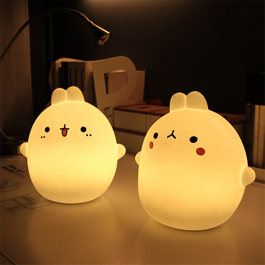 Remote Novelty Lighting Fixture USB LED Night Light Portable Touch Sensor Fairy Baby Night Lamp For Children Room Light keyshare dual bulb night vision led light kit for remote control drones