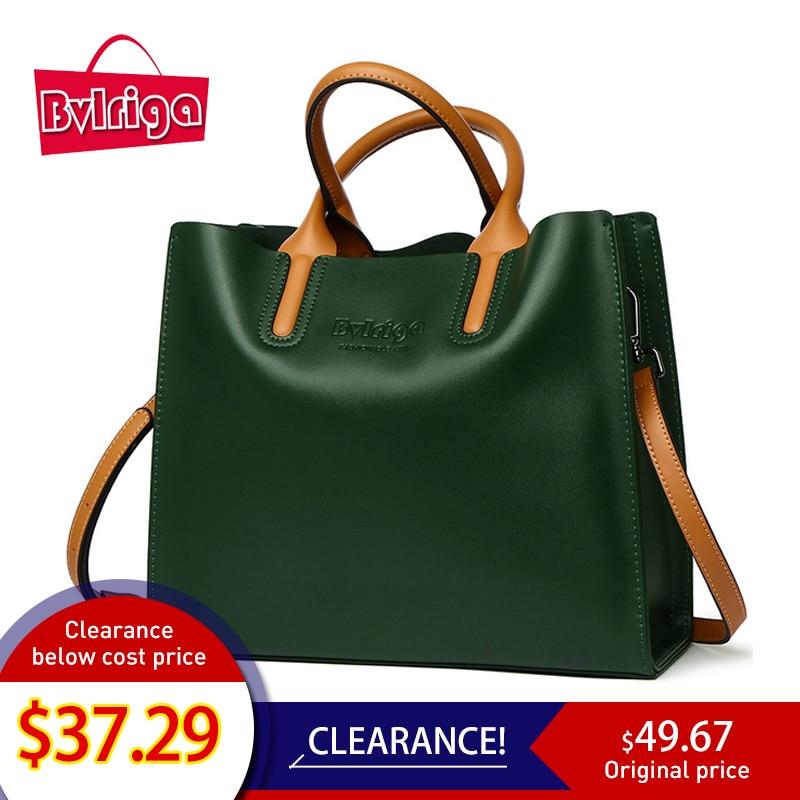 BVLRIGA Borsa in vera pelle marche famose donne borse a tracolla borse donna borse donna di design di alta qualità borsa a tracolla tote