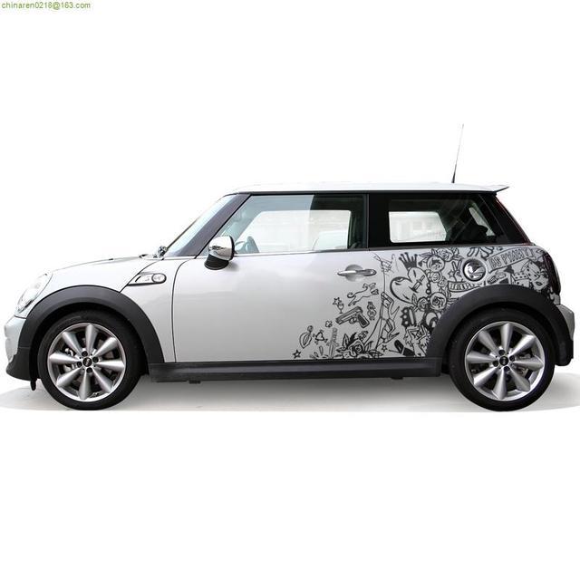 Top Per bmw mini veicolo speciale adesivi auto personalizzati graffiti  CP64