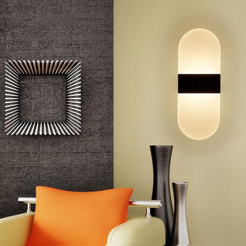 HTB1VokGQVXXXXXAXXXXq6xXFXXXk - Acrylic LED Wall lamp 3W 5W 6W Modern Bedroom Bedside decoration wall sconces light for home stairs loft LED light indoor decor