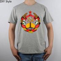 Cccp Ceket Arms Azerbaycan Ssr t-shirt Erkekler T Gömlek
