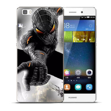 Spider Iron Man Hero Case For Huawei P8 P9 P10 P20 P30 Lite Plus Mate 10 Pro Y5 Y6 II Y3 Y7 2017 Honor 9 6X 7X Avengers Cover