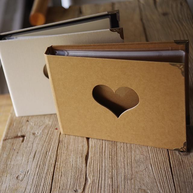 Linen Diy Hollow Love Cover Diy Notepad Album Creative Birthday Gift