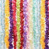 1pcs 30cm Wedding Decorative Silk Garlands of Artificial Silk Wisteria Home Fashion Artificial Hydrangea Party Romantic Flower