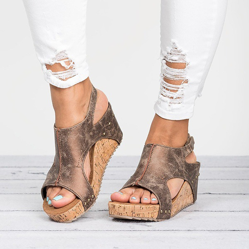Shehuimei Gladiator Sandalen Plattform Frauen Zwängt Schuhe Weiblichen Sommer Trifle Offene spitze Schwarz Flip Flops Slipper Größe 43