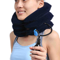 Health Care Air Cervical Neck Traction Device Has A Soft Head And Neck Support Used In The Treatment Of Cervical Spondylosis
