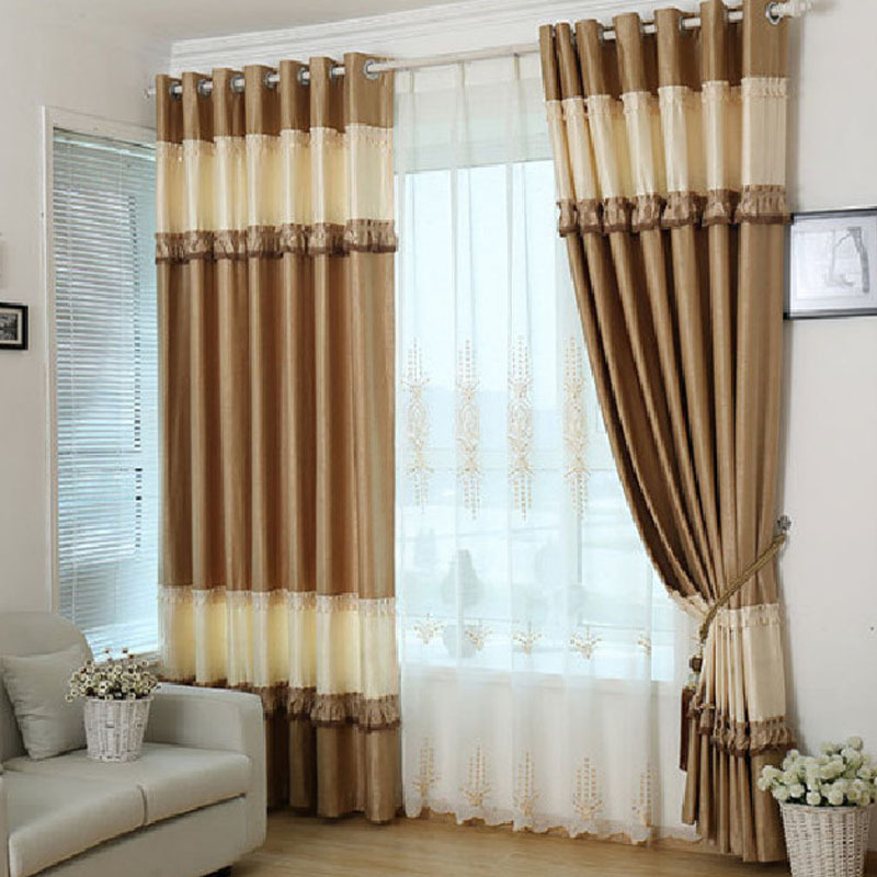 organza tulle curtains for living room embroidered sheer curtain cortina para quarto lace. Black Bedroom Furniture Sets. Home Design Ideas
