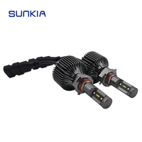 2x 30W Super Bright 8400LM Auto 9005 HB3 H10 LED Headlight Car Styling All In One
