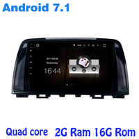 Quad Core Android 7 1 Car Radio Gps For Mazda 6 Atenza 2013 2014 2015 With