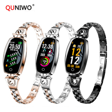 2018 New Smart Bracelet Women Heart Rate Sleep Monitor Smart Band Blood Pressure Smart Watch Band For IOS Android Smartbands