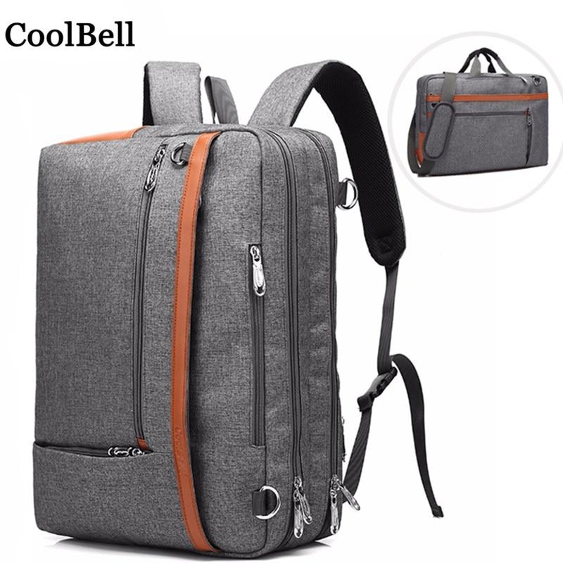 CoolBell messenger Shoulder Nylon portable handbag For macbook pro 17 Laptop bag 17 3 Notebook case