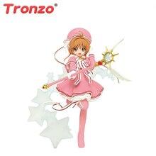 Tronzo figura de acción TAITO Original, cazadora de cartas de Anime, Sakura, Kinomoto Sakura, figura de PVC en miniatura para niños, muñecos de juguete