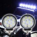 27 W LED Trabalho Light 12 V 24 IP67 Spot/Flood Luz de Nevoeiro Off estrada ATV UTV ATV Tractor Train Bus Barco Holofote luz de Circulação Diurna luz