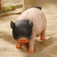 2018 Hot Sale Cute Pig Shape Pig Piggy Bank Pig Money Box Cartoon Home Decoration Children Birthday Gift