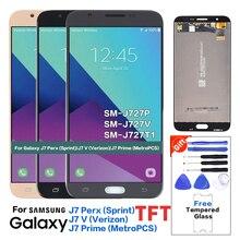 Для samsung Galaxy J7 V SM-J727V ЖК-дисплей Экран дисплея Замена для samsung SM-J727P J727T1 Дисплей ЖК-экран тестирование