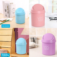 Mini Table Dustbin Sundries Barrel Storage Garbage Can Desktop Trash Can Garbage Dust Case Holder Bin Trash Can Ash-bin papelera kosz na smieci garbage de bag holder reciclaje commercial hotel lixeira cubo basura recycle bin dustbin trash can