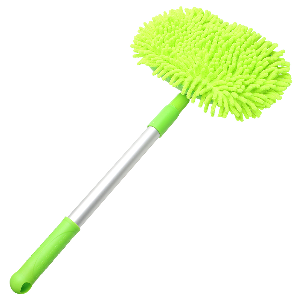 Soft Car Washing Mop Window Wash Tool Car-styling Adjustable Auto Care Detailing Dust Wax Mop Car Cleaning Accessories
