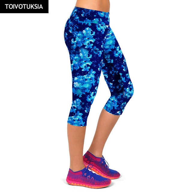 TOIVOTUKSIA Sport Leggings Tights Fitness mallas mujer deportivas Yoga Pants Running Tights Women Black Milk Soft Legging