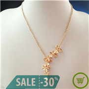 2019-New-Fashion-Orchid-Flower-with-Pearl-Pendant-Necklaces-Long-Chain-Collars-Necklace-for-Women-Wholesale (1)