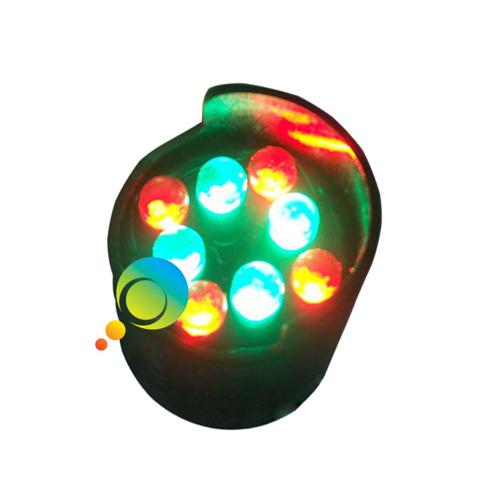 26mm New arrival bi-color red green LED pixel cluster for arrow boards traffic light parts
