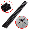 Hot 3K 8mm x 10mm x 500mm Roll Wrapped Carbon Fiber Tube Boom For Multicopter For Quadcopter Accessories