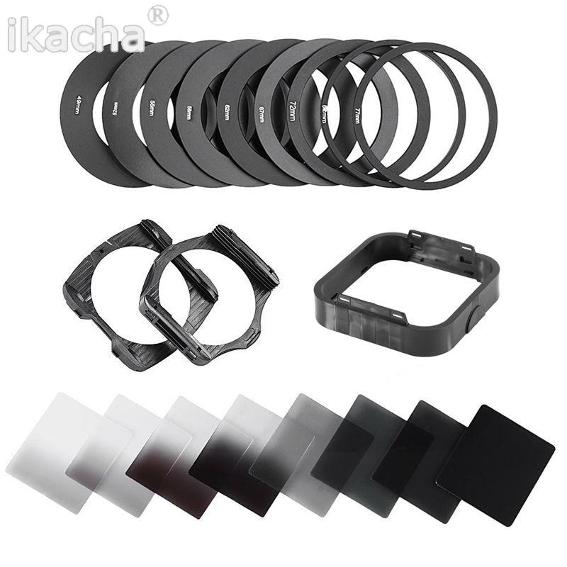 Heißer 20 in1 Universal Gradienten Neutral Dichte Schrittweise ND2 4 8 16 Filter Kit für Cokin P Serie Pro Set SLR DSLR Kamera Objektiv
