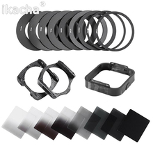 Hot 20 in1 Universal Gradient Neutral Density Gradual ND2 4 8 16 Filter Kit for Cokin P Series Pro Set SLR DSLR Camera Lens недорого