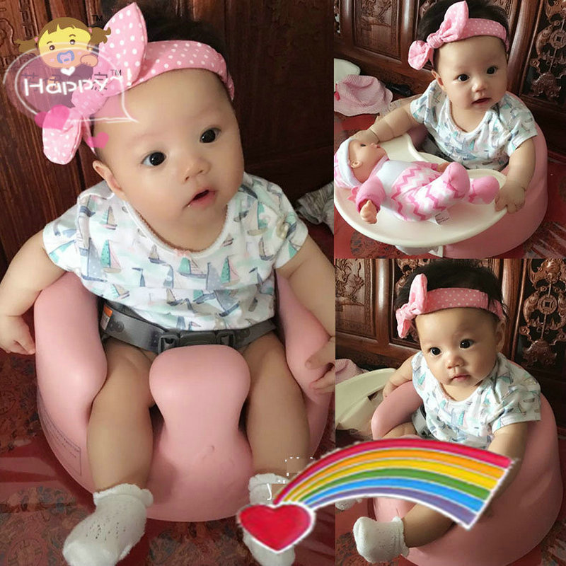 Bright Color Cute Baby Chair Super Light Comfortable Baby Feed Soft Chair Baby Sofa, Portable Baby Booster Seat