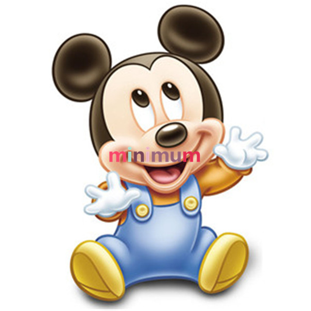 diy mickey mouse full diamond painting cross stich embroidery mosaic needlework for home decor christmas gift - Mickey Mouse Ornaments Christmas