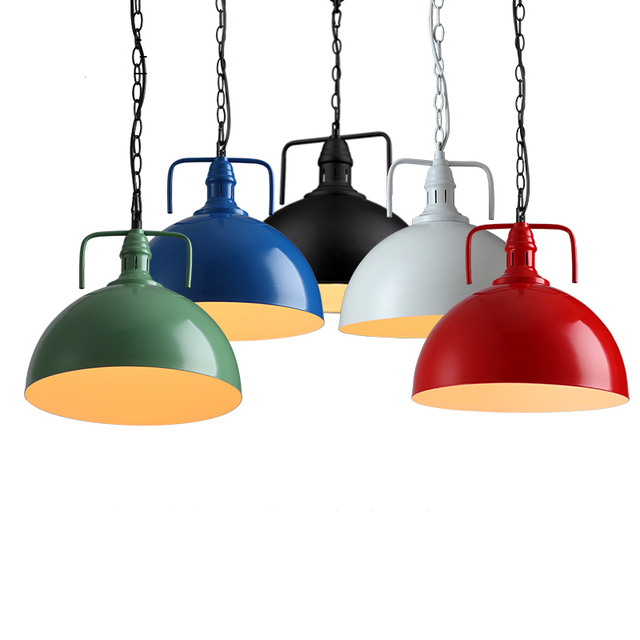 Loft Industriel Fer Métal Pendentif Lumière Pour Salle à Manger