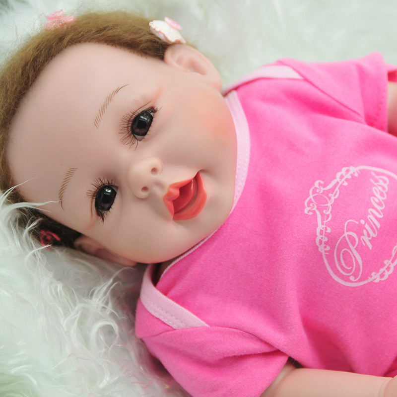 52cm Full Silicone Reborn Babe Realista Fashion Baby Dolls Princess Children Birthday Gift Bebes Reborn Dolls Newborn Baby Dolls