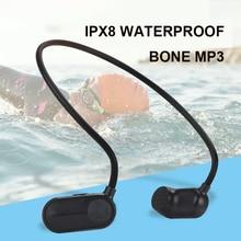 OKCSC Bone Conduction MP3 HiFi Music Player IPX8 Waterproof