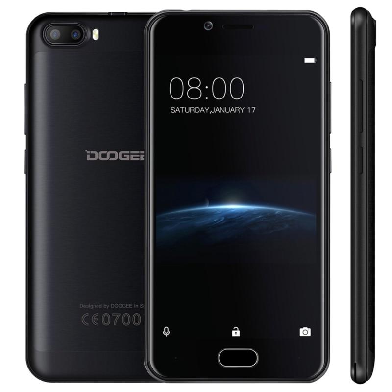 bilder für Ursprüngliche DOOGEE Schießen 2 2 GB/16 GB Dual Hinten Kameras DTouch Fingerabdruck 5,0 zoll Android 7.0 MTK6580A Quad Core 1,3 GHz-1,5 GHz